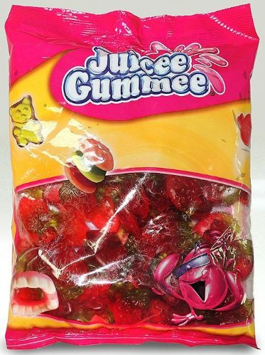 Juicee Gummee Oiled Strawbery 1kg bag